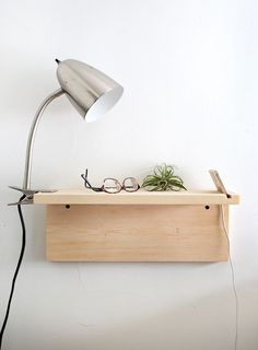 Your bedroom is the perfect place to implement pared-back style. We've rounded up seven simple DIYs using raw wood for some seriously cool bedroom inspiration. 1. DIY Mid Century Nightstand Get th
