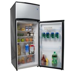 Buy the Avanti 7.4 Cu. Ft. Energy Star Apartment Refrigerator for spacious storage in compact settings