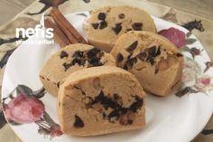 Ödüllü Kurabiye (Muhteşem) Tarifi Cookie Recipes, Dessert Recipes, Delicious Desserts, Yummy Food, Starbucks Recipes, Recipe Mix, Love Eat, Turkish Recipes, Biscuit Recipe
