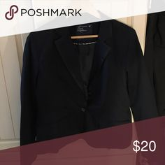American Eagle blazer Navy blue blazer with 1 button American Eagle Outfitters Jackets & Coats Blazers