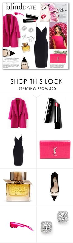 """""""Blind Date Style"""" by lauren-a-j-reid ❤ liked on Polyvore featuring Bobbi Brown Cosmetics, Zimmermann, Yves Saint Laurent, Burberry, Miu Miu and Bloomingdale's"""
