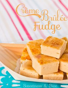Creme Brulee Fudge - how to