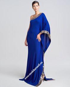 Diana Abendkleid 2013 in Blau  www.modekarusell.eu