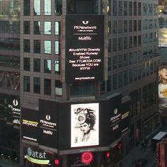 My billboard in Times Square, NY!!! #nyfw #mayteemartinez #ftlmoda