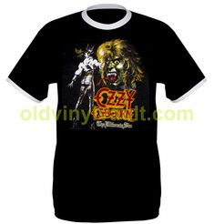 Ozzy Osbourne Tee Shirt (The Ultimate Sin Tour 1986) REPLICA TEE