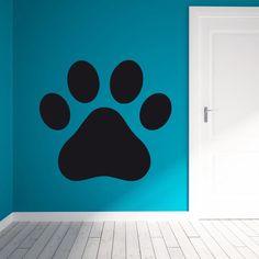 """lavagnetta decorativa da parete """"Paw"""" scrivibile con gessetti, adesiva adatta a tutte le superfici sufficientemente lisce"""