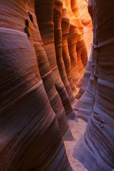 Zebra Slot Canyon, Utah