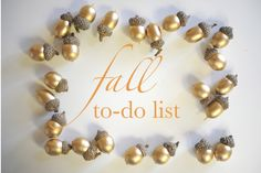 fall to-do list - definitely need to do some of these like go apple picking, visit a lighthouse with a picnic, have a pumpkin carving party, and host a little thanksgiving party!