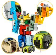 Magic Alphabet Transformers Robots       With just a few twists you can transform these action figure toys form numbers to robots and back again.  Allowing kids to play creatively while learning and getting familiar with the numeric digits!      10 Diamond Set of Numeric and 5 Math Symbols suit, not only a flexible combination of learning Numeric and mathematics, but also through the th   #Magic Alphabet Transformers Robots