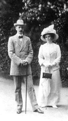 Grand Duke Paul and his wife, Princess Paley.