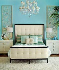 Lovely Light Blue Bedroom