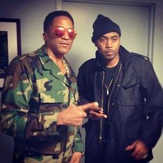Q-Tip and Nas