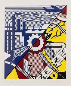 Industry and Arts (II) (Corlett 86) by Roy Lichtenstein