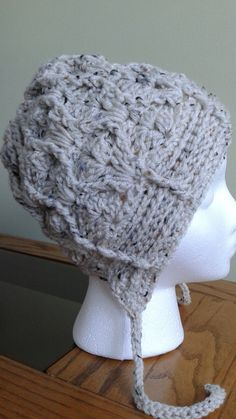 The Textured Slouchy Hat  for Babies, Children and Adults by CuddleinCrochet on Etsy