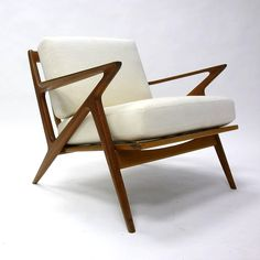 poul jensen for selig lounge chair with new upholstery