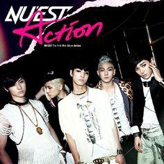 NU'EST - Action (1st Mini Album) CD + GIFT k-pop Nuest