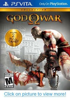 I'm learning all about Sony God of War Collection (PlayStation Vita) at Playstation Games, Xbox Games, Ps4, Nintendo 3ds, God Of War Game, Ps Vita Games, Latest Video Games, Xbox One Controller, New Gods