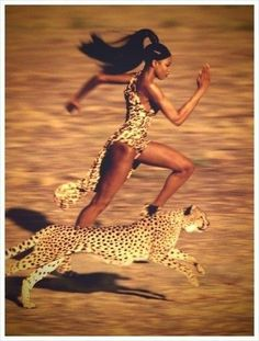 Naomi Campbell #JeanPaulGoude