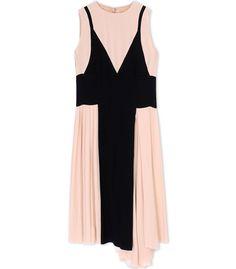 ShopBazaar Marni Blush & Black Tank Dress MAIN