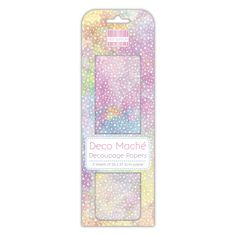 First Edition Pastel Galaxy Deco Mache Pastel Galaxy, Arts And Crafts, Paper Crafts, Decoupage Paper, White Paints, Handmade Crafts, Craft Projects, How To Apply, Design Inspiration