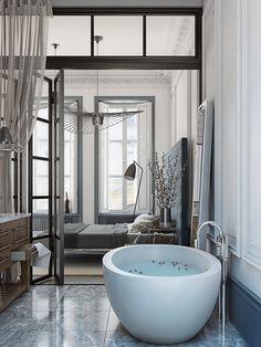 Morning Elegance - Лучший дизайн спальни | PINWIN - конкурсы для архитекторов, дизайнеров, декораторов