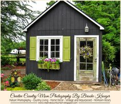 "Are you following Creative Country Mom's Garden yet?  If not you are missing out on the ""Garden Gawkers"" posts!  I have been sharing garden tours and creative ideas to get us thru till it warms up!  It's not too late!  Come visit me today~!    http://creativecountrymom.blogspot.com/"