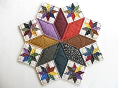 Table Top Quilt Quilted Table Topper Quilted Candle Mat by dlf724, $36.00
