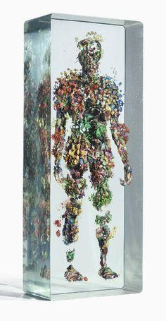 Dustin Yellin, Art Installation