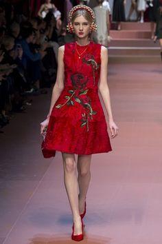Milan Fashion Week: Dolce & Gabbana | DRESS A PORTER – BLOG