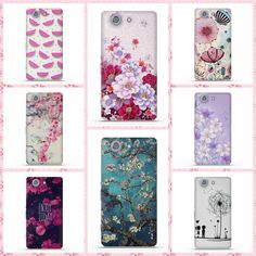 Luxury Perfect Design 3D Painting Case for Sony Xperia Z3 Compact / Z3 Mini Back Silicon Soft Cover For Sony Z3 Mini Phone Cases