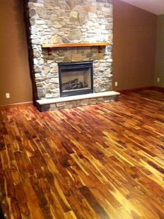 "A customer favorite - Tobacco Road Acacia! ""The colors are great and it goes with any type of wood that you may have in your house."""