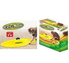 Gizli Fare Görünümlü Kedi Oyuncağı Cats Meow | Evcil kedileriniz için otomatik oyuncak. İçerisinde gizli fare görünümü ve Ayarlanabilir hız kontrolü ile kediniz çılgına dönecek. Her yaştan kedinin kullanımına uygundur. 3 adet pil ile çalışır. #PetShop #Pet #EvcilHayvan #Köpek #Kedi #Kuş #Dog #Bird #Papağan #Cat #Mama #Oyuncak #Toys #Balık #Fish #Satacak