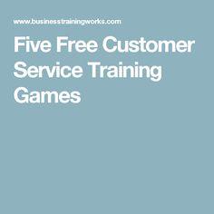 Five Free Customer Service Training Games