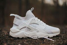 "Nike Air Huarache Ultra BR ""Triple White"" - EU Kicks: Sneaker Magazine"