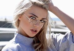 Every Girl Must Have These Vintage Round Metal Circle Glasses Frames