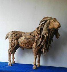 Horse Sculpture, Statue, Art, Driftwood Art, Art Background, Kunst, Performing Arts, Sculptures, Sculpture