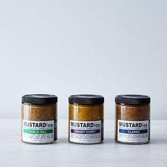 For the mustard aficionado in your life. #homemade #handmade #smallbatch #mustard #food52 #gift