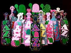 TX State DZ paddles <3 Time to start crafting for my little & (eeeek) grandlittle!