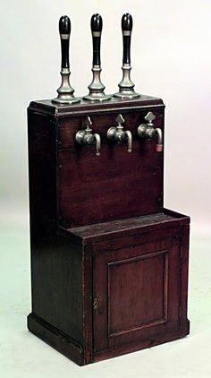 English Victorian accessories beer taps wood