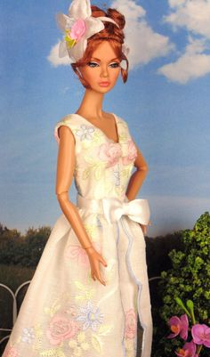 Summer Tea for Silkstone Barbie Victoire Roux & by HankieChic