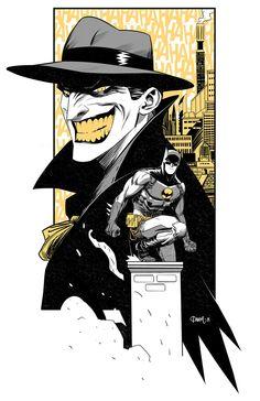 Joker/Batman on by Dan Mora on Bēhance