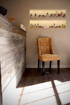 Inside the salon @ Salon Santo Tomas in Old Town San Diego, California Old Town San Diego, Painting Trim, Black Furniture, Salon Ideas, White Trim, How Beautiful, My Dream Home, Entryway, California