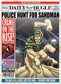 Classic Spider-Man Villain Art for The Daily Bugle — GeekTyrant