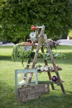 Beatrix Potter Spring Garden Party via Kara's Party Ideas | Cake, decor, cupcakes, games and more! KarasPartyIdeas.com #springparty #gardenparty #easter #easterparty #partydecor #partyideas2