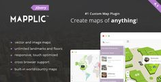 Mapplic - Custom Interactive Map jQuery Plugin - Price $18 - Rate 4.84 stars - Avg rate 4.84 average based on 106 ratings.          (more information)