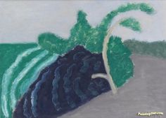 Tree And Ocean Artwork by Milton Avery Hand-painted and Art Prints on canvas for…