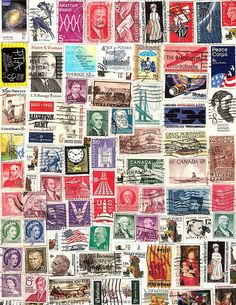 Free Collage collections guide tips Free Collage, Collage Art, Decoupage, Vintage Labels, Printable Paper, Mail Art, Stamp Collecting, Vintage Images, Postage Stamps