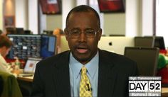 """Dr. Ben Carson, author of """"One Nation: What We Can All Do to Save America's Future,"""" appears on The Glenn Beck Program May 22, 2014. (Photo: TheBlaze TV)"""