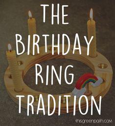 Waldorf Birthday Ring