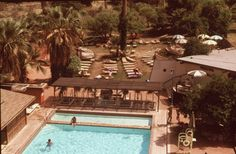 Can you believe that the #mineral #baths at #GlenIvy #HotSprings are still in the same location?! This is a shot from Glen Ivy in 1979.
